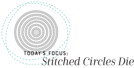 Stitched Circles Heading