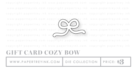 GIFTCARDCOZYBOW_DIE