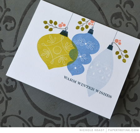 Ornament Trio Card