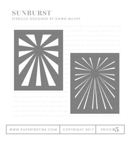 Sunburst-stencils
