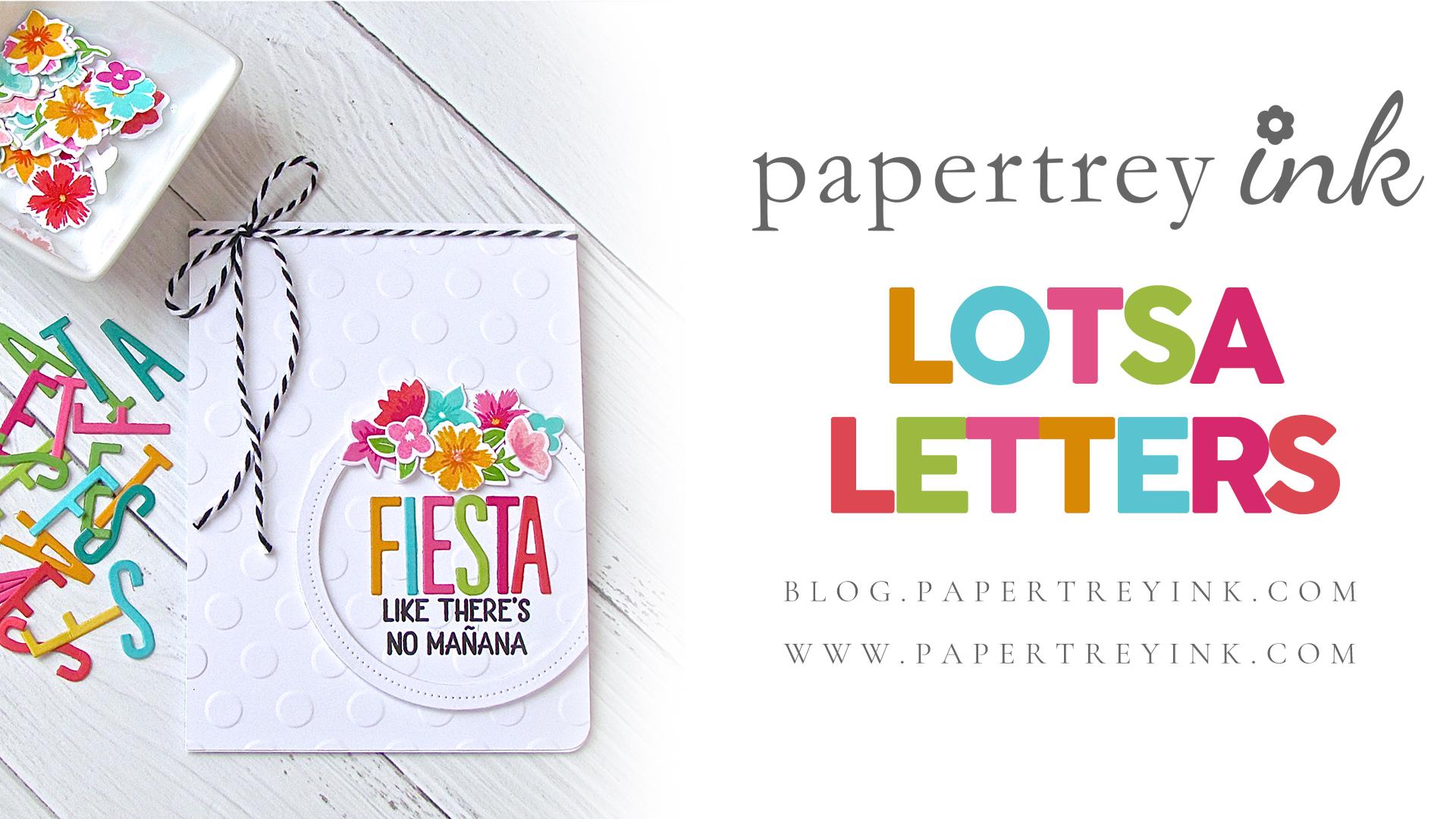 Make It Monday #348: Lotsa Letters