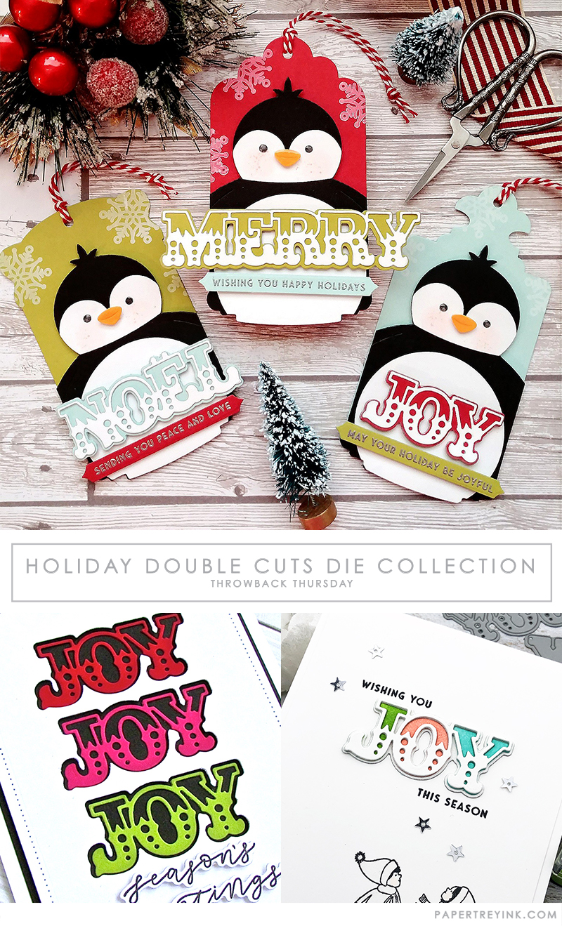 Throwback Thursday: Holiday Double Cuts Die Collection