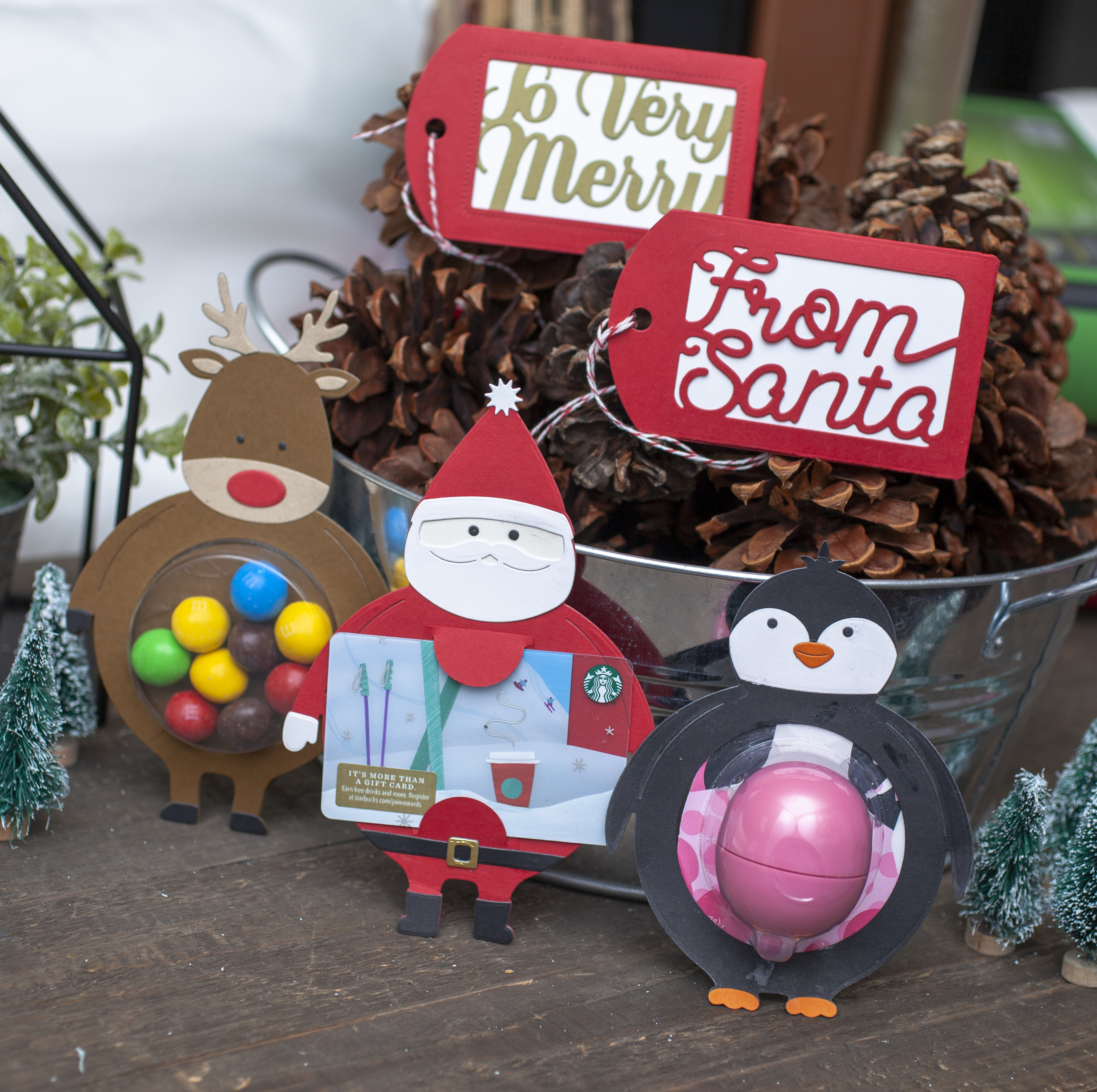 Quick & Easy Holiday Gifts & Tags