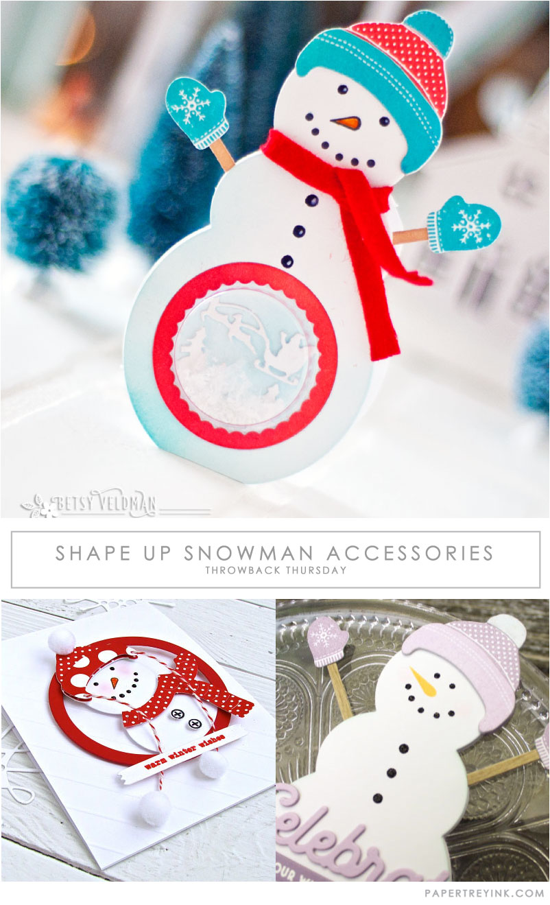 Throwback Thursday: Shape Up Snowman Accessories