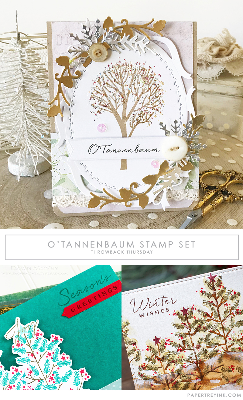 Throwback Thursday: O'Tannenbaum Stamp Set
