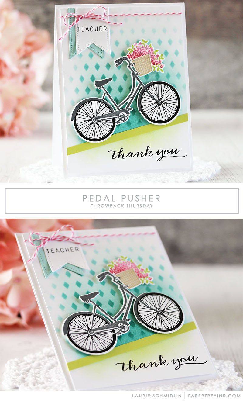 Throwback Thursday: Pedal Pusher