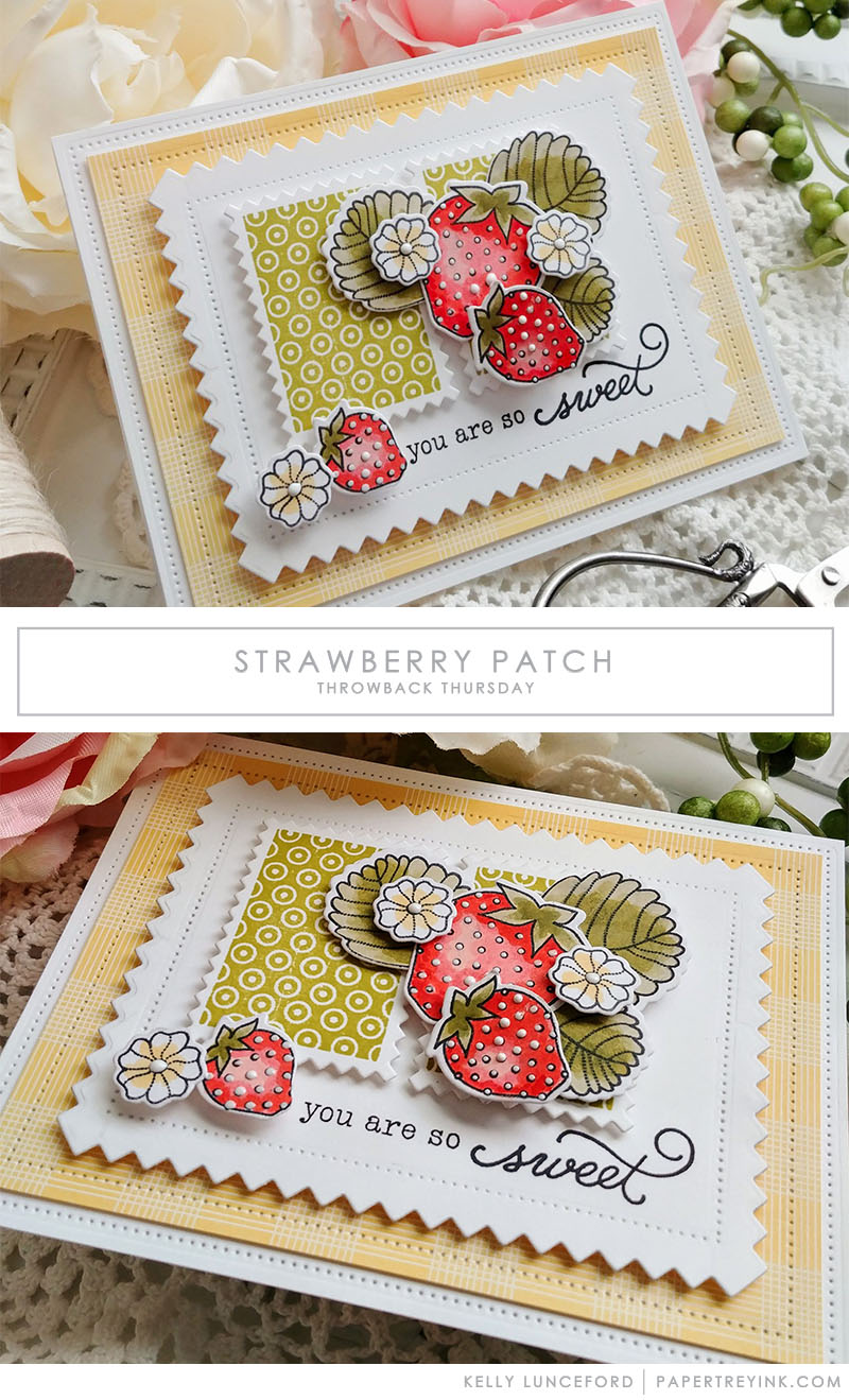 Throwback Thursday: Strawberry Patch