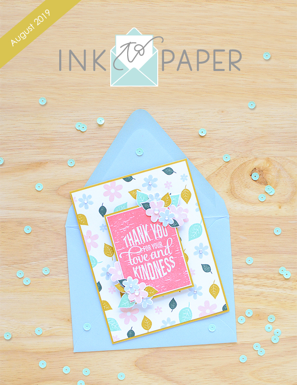 *NEW* Ink to Paper August Collection Release
