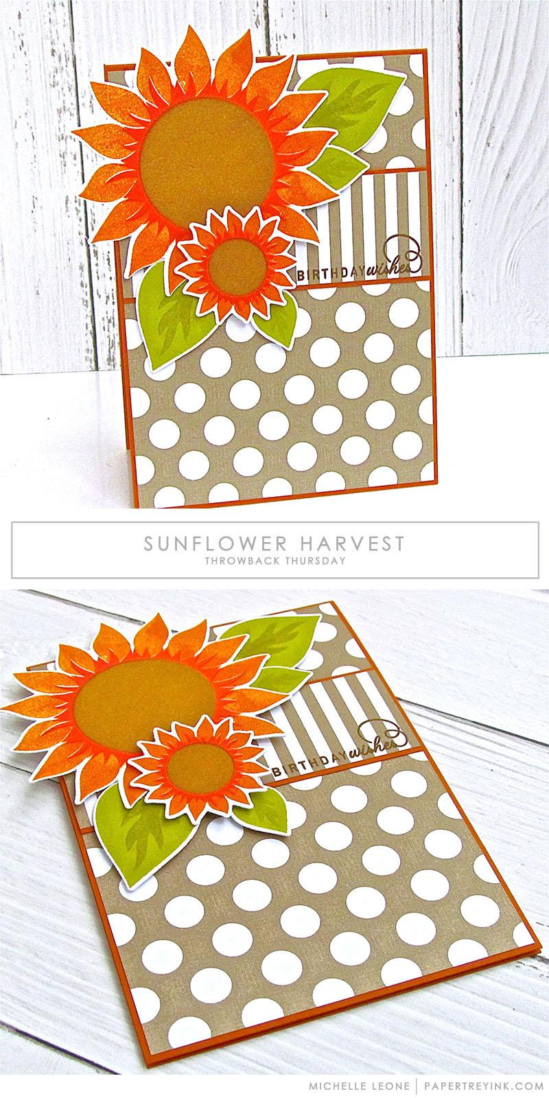 Throwback Thursday: Sunflower Harvest