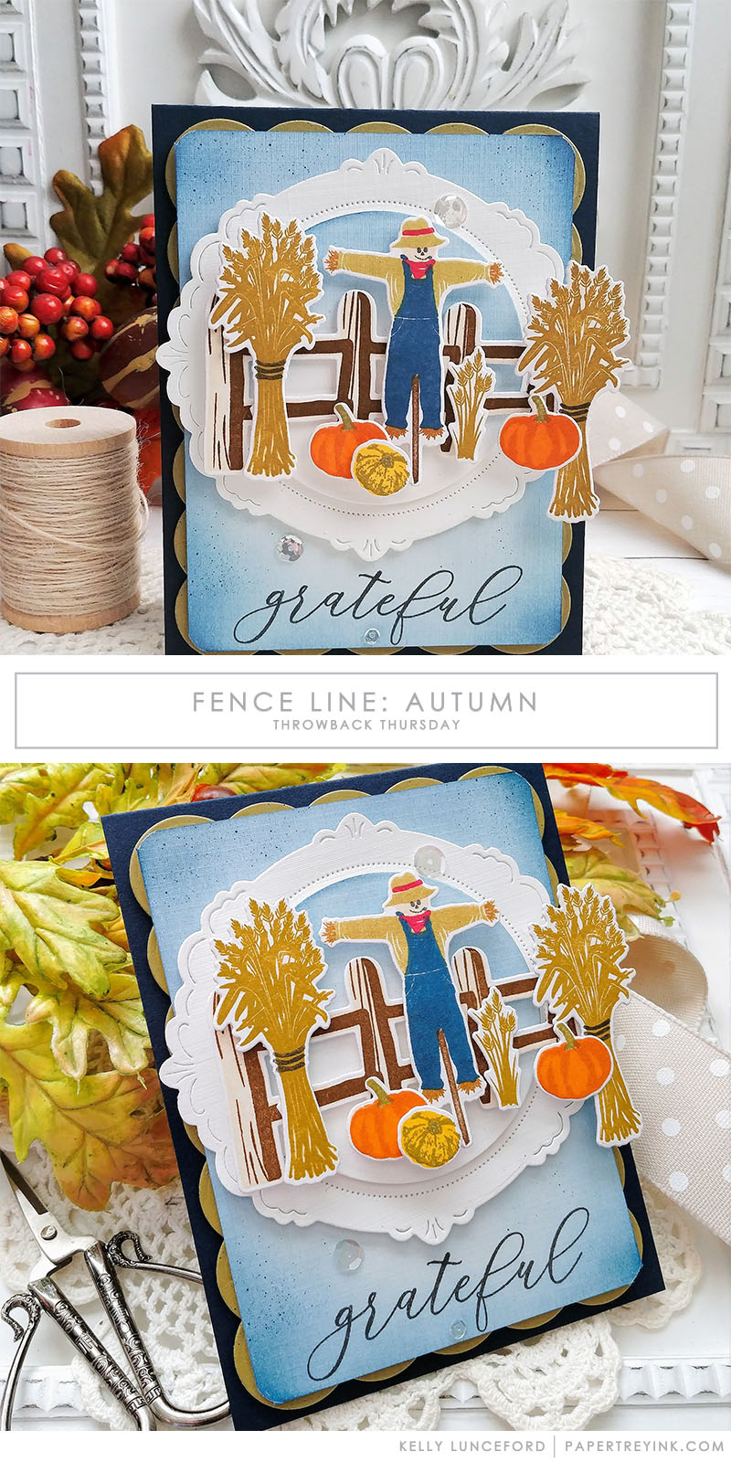 Throwback Thursday: Fence Line: Autumn